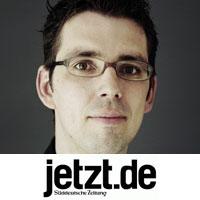 Dirk Von Gehlen, Leitung Social Media, jetzt.de